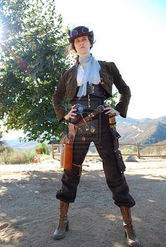 steampunk Costumes | steampunk_costume_by_pharoahess-d2yzlrg.jpg | Crystaline : Steampunk ...