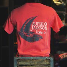 Men's super soft Sailboat Pocket Tee Shirt by Buffalo Jackson Trading Co. pocket tshirt | frocket shirt | mens summer style