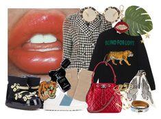 """Cool stuff"" by astrid-sophia ❤ liked on Polyvore featuring Erdem, Gucci, Pier 1 Imports, Henri Bendel, Miu Miu, Chanel, Kenneth Jay Lane, INUIKII, Marc Jacobs and Kendra Scott"
