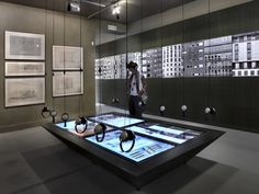 Venice Biennale 2012: Facecity / C+S Architects exhibition design incorporating interactives with headphones