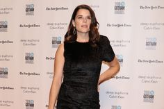 Neve Campbell Talks Sophie Theallet at the Gotham Independent Film Awards