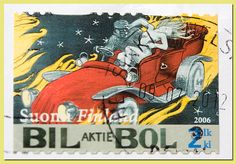 Akseli Gallen-Kallela-julisteita_Bil-Bol postimerkki, 2006, Suomi Finland_AA Mail Art, Finland, Postcards, Video Game, Stamps, Comic Books, Comics, Cover, Artwork