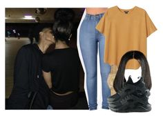 """""""Right by my side -Nicki Minaj"""" by pretty-ambi ❤ liked on Polyvore featuring Monki, Rolex and NIKE"""