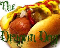 Dragon Dog:  Jalapeno Relish, Sriracha, Diced Onion & Mustard