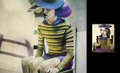 ! IT UP: As mulheres de Picasso por Recuenco