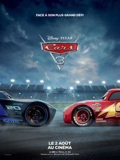 2 New Posters for Disney Pixar's Cars 3