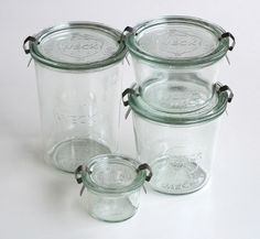 Weck Food Storage Jars