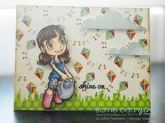 May 2014 featured digi of the month - Watering Can Tia by Some Odd Girl. http://joboogie.typepad.com/stamping/2014/05/some-odd-girl-featured-digi-watering-can-tia.html