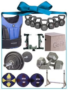 BEST HOME EXERCISE EQUIPMENT! 'Tis the season to spread the gift of fitness, but shopping for workout-themed gifts can be difficult. Let us help you find the perfect present for your swolemates with this easy list!