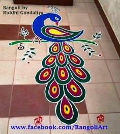 rangoli designs for diwali Easy Rangoli Designs Diwali, Rangoli Simple, Simple Rangoli Designs Images, Rangoli Designs Latest, Rangoli Designs Flower, Rangoli Patterns, Colorful Rangoli Designs, Rangoli Ideas, Diwali Rangoli