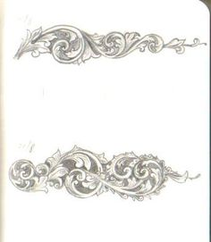 The Engraver's Cafe - The World's Largest Hand Engraving Community - First scroll drawings
