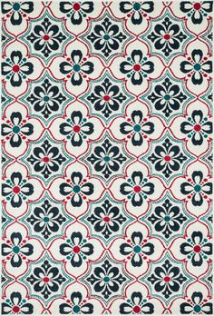 Made of very weather-resilient polypropylene, the Catalina Collection features indoor/outdoor rugs with bold patterns and can't-miss, vibrant colors that look amazing in indoor or outdoor spaces. Each
