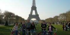 Cycling with a Fat Tire around Paris