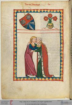 Albrecht von Johansdorf stammte aus Niederbayern, vermutlich aus der Gegend zwischen Landau und Vilshofen. In mehreren Urkunden zwischen 1172 und 1209 findet sich dieser Name, wobei es sich um Vater und Sohn handelt, die in einem Dienstverhältnis zu den Bischöfen von Bamberg und Passau standen