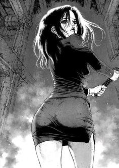 Shared by Sun Ken Rock HQ Extras Anime Sexy, Dark Anime, Manga Girl, Anime Art Girl, Manga Anime, Sun Ken Rock, Urbane Kunst, Arte Cyberpunk, Sexy Drawings