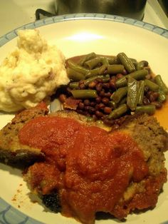 Very Best Meatloaf!  @allthecooks #recipe #meatloaf #easy #dinner #hot #quick