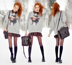 WHat is with all these hot Swedish people, dammit? via http://lookbook.nu/look/3104325-Indian-Chief