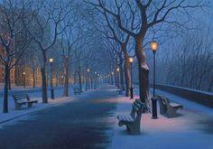Winter Caress by Alexei Butirskiy