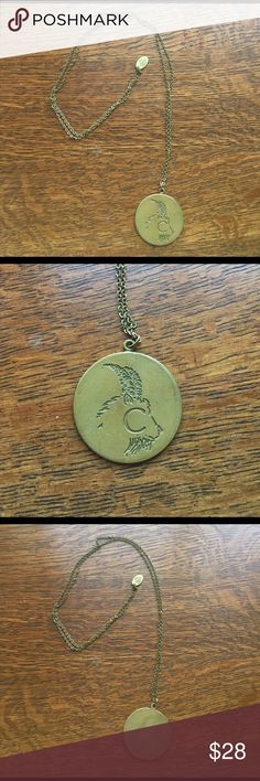 Urban Outfitters Capricorn zodiac gold necklace Trendy Capricorn zodiac gold/bronze long necklace by UO. Capricorn zodiac is the sea-goat and it is the 10th astrological sign originating from the constellation of Capricornus. Correlates to birthdays Dec 22- Jan 19. In astrology, it is considered an earth sign and one of the four cardinal signs and is said to be ruled by the planet Saturn. Necklace is in perfect condition. It's great as a gift or for yourself! Urban Outfitters Jewelry…