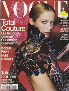 1998 Vogue Magazine Paris France Carolyn Murphy Esther Canadas Gisele Bundchen   eBay