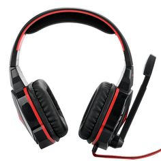 Kotion Each G4000 Pro Gaming Headset - Stereo Sound Mic Noise Cancellation Adjustable 2.2 Meter Cable Volume Contol LEDs