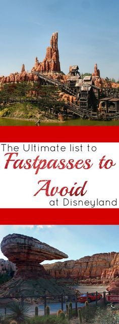 Disneyland FastPasses to Avoid | SoCal Style