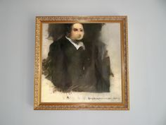 According to an article from the New York Times, a portrait produced by Artificial Intelligence was hanging at Christie's New York opposite an Andy Warhol print and beside a bronze work by Roy… Spider Verse, Under The Hammer, Artist Signatures, Design Blog, First Art, Artificial Intelligence, Paris, French Art, Art Market