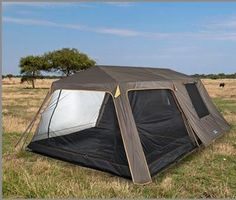 Bushtec Adventure presents the 6 Sleeper Fish Eagle Frame Tent, made of Polyester and with Steel Poles in the frame. Tent Camping, Outdoor Camping, Outdoor Gear, Camping Outdoors, 6 Person Tent, Family Tent, Under Construction, Eagle, Survival