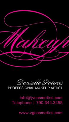92 best makeup artist business cards images on pinterest makeup customizable makeup artist business cards designed by colourful designs inc makeup artist cards cheaphphosting Images