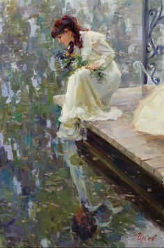 Vladimir Gusev, 1957 ~ Plein-air Figurative painter (Russia)