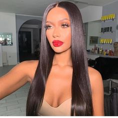 Black Lace Frontal Wig Black To Purple Ombre Short Straight Hair, Short Hair Cuts, Thin Hair, Wig Hairstyles, Straight Hairstyles, Black Purple Ombre, Color Black, Curly Hair Styles, Natural Hair Styles