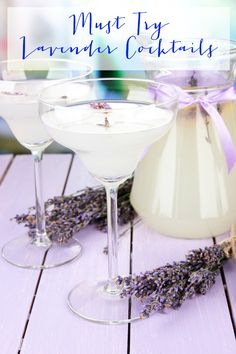 If you are a fan of lavender and cocktails, then you have to add these Must Try Lavender Cocktails to your list!