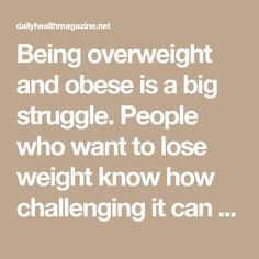 Being overweight and obese is a big struggle. People who want to lose weight know how challenging it can be to shed the extra pounds. The internet has been overwhelmed with millions of diet. Weight Loss Drinks, Weight Loss Tips, Fat Burning Water, Lose Weight Naturally, Health Magazine, Daily Meals, Want To Lose Weight, Diet Recipes, Challenges