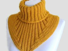 Men scarf cowl neck warmer knit collar soft hand by likeknitting , Knitting for all - 13066251 - the Cachalot the Shirtfront., Knitting for all, club and a forum for communication - the Cachalot Knitting Patterns Unisex Womens Mens fashion scarf Very warm Knitting Patterns Free, Knit Patterns, Free Knitting, Baby Knitting, Knitting Scarves, Knitting Needles, Free Pattern, Poncho Crochet, Crochet Jacket