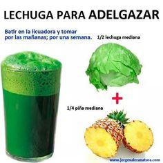 Jugo para Desintoxicar y Perder peso: Aloe + Pepino + Perejil + ...