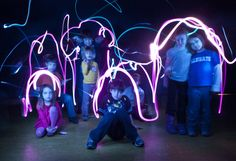 Light Painting @ the Kansas Children's Discovery Center!