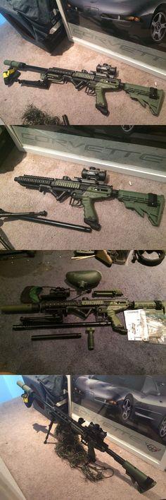 Paintball Markers 16048: Custom Tippmann Cronus Sniper Cqc Rifle Paintball Gun (Please Read Description) -> BUY IT NOW ONLY: $350 on eBay!