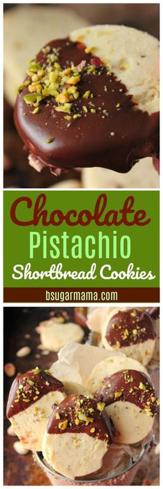 You will enjoy these Chocolate Covered Pistachio Shortbread Cookies are perfect for Christmas. Enjoy this easy shortbread cookie recipe.
