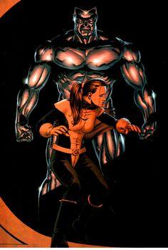 Colossus and Shadowcat