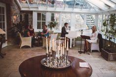 Ballymagarvey Village, Meath, Ireland by David McClelland Photography. Destination Wedding Photographer, Wedding Flowers, David, Candles, Table Decorations, Photography, House, Home Decor, Photograph