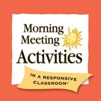 Morning Meeting For Teachers: excellent details for all aspects necessary to conduct effective classroom meetings