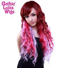 Gothic Lolita Wigs® <br> Classic Wavy Lolita™ Collection - Geisha Gone Wild -00607