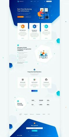 trend website design, website inspiration, landing page design