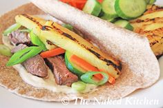 Grilled Hawaiian Teriyaki Steak Tacos