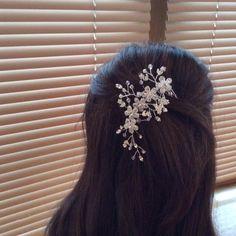 Bridal Comb Bridal Headpiece Floral Comb от BestFriendBridal