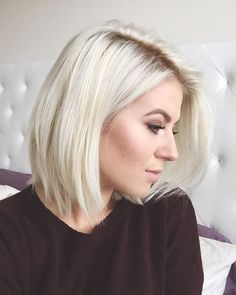 Became an #icequeen for the cooler season  loving this platinum blonde…