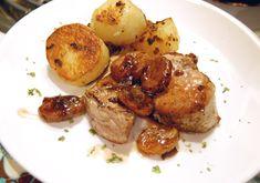Jaques Pepin pork tenderloin