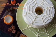 ハロウィン☆蜘蛛の巣シフォンデコ : chikuwa日和