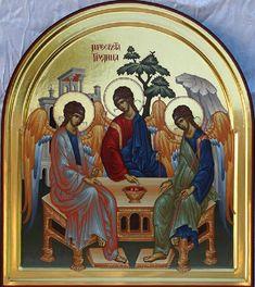 Serbian History 101 - Prayers for You. Trinidad, Nicene Creed, Jesus Prayer, Prayer For You, Holy Quotes, Byzantine Icons, Morning Prayers, Religious Icons, Orthodox Icons
