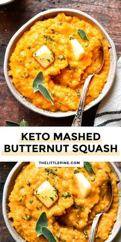 This mashed butternut squash recipe makes all my holiday dreams come true! When it comes to low carb recipes, I don't think we normally expect them to be so addictive!